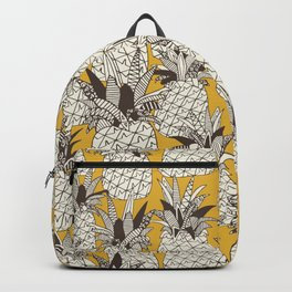 pineapple sunshine yellow Backpack