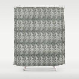 SnowVectors Shower Curtain