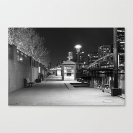 Melbourne Corner Canvas Print