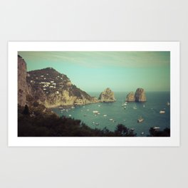 Amalfi coast, Italy 2 Art Print
