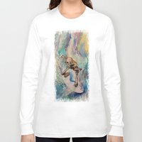 surfer Long Sleeve T-shirts featuring Surfer by Michael Creese