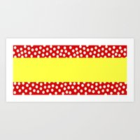 Spanish flag - Variation 2 Art Print