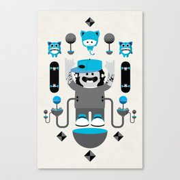 Skater Dude Canvas Print