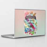 shih tzu Laptop & iPad Skins featuring Nature Lao Tzu quote by James Thornton