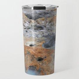 Boiling Mud Pots. Travel Mug