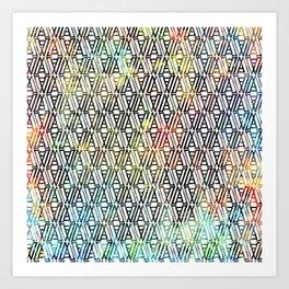 partake pattern Art Print