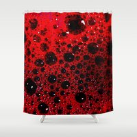 mars Shower Curtains featuring MARS by ..........