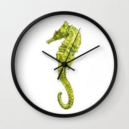 Sergio the Seahorse Wall Clock