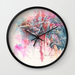 """Serial Kill-Meleon"" Wall Clock"