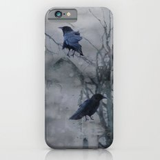 Crows In A Gothic Gray Wash Slim Case iPhone 6s