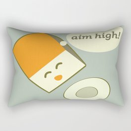 Aim high! Rectangular Pillow