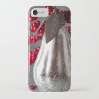 pear iPhone & iPod Cases featuring Pear by Kaos and Kookies