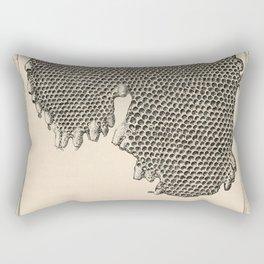 Honeycomb Frame Rectangular Pillow