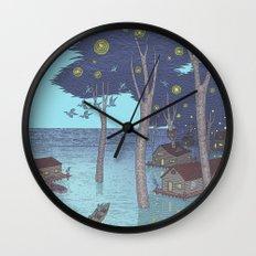 port of tomorrow Wall Clock