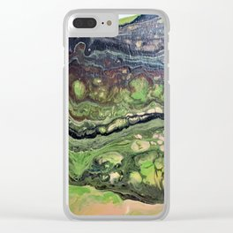 Slipping MOss Clear iPhone Case