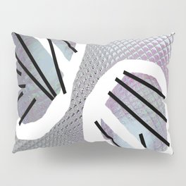 Line and metal Pillow Sham