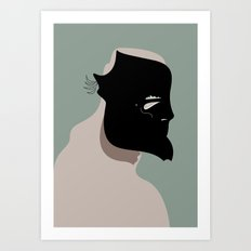 The Black Mask Collection 006 Art Print