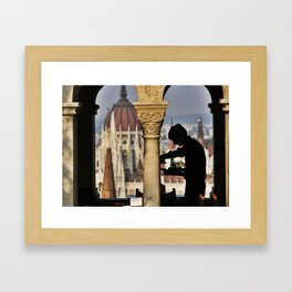 Waiter Framed Art Print