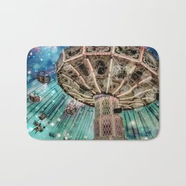 Dip Your Toes In the Stars Bath Mat