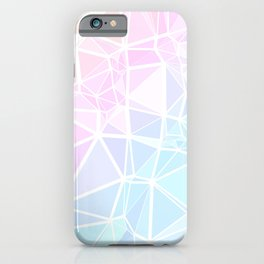 Pastel Triangles 1 iPhone Case