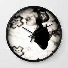 金魚と花 弐 Wall Clock