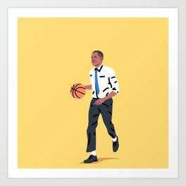 Balling Barack Art Print