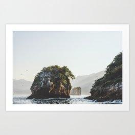 Los Arcos, Puerto Vallarta Art Print