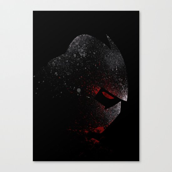 Foot Clan Master Canvas Print