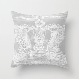 Crowning Glory {2} Throw Pillow