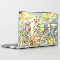 insect Laptop & iPad Skins featuring Compositions insect by Maethawee Chiraphong