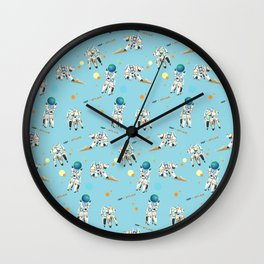 Hold the Earth Wall Clock