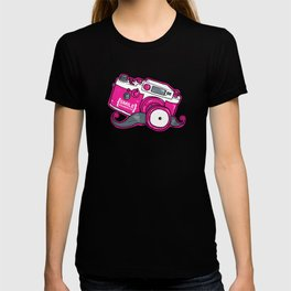 Nicky Digital's Mustachioed Camera Man T-shirt