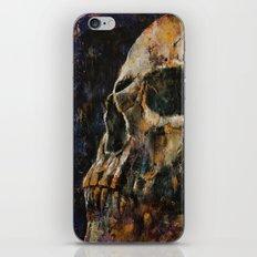 Gold Skull iPhone & iPod Skin
