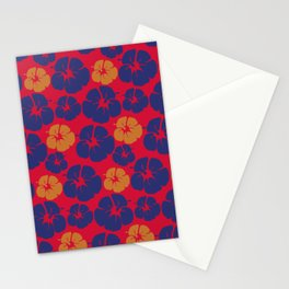 Beach Hibiscus Tropical Floral Stationery Cards