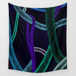 Pointilism 5 Wall Tapestry
