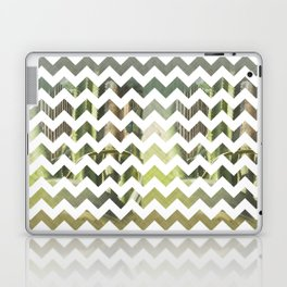 Cactus Garden Chevron 3T Laptop & iPad Skin
