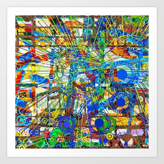 Joy (Goldberg Variations #14) Art Print