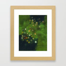 Marbles Framed Art Print