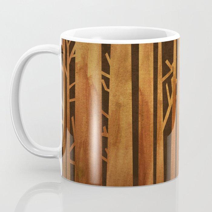 Proud deer in forest 1- Watercolor illustration Coffee Mug