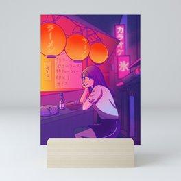 Ramen shop Mini Art Print