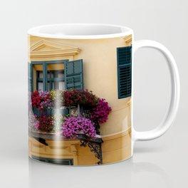 The Yellow Facade Coffee Mug
