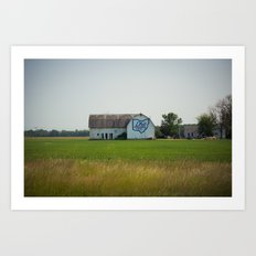 Ohio Bicentennial Barn Art Print