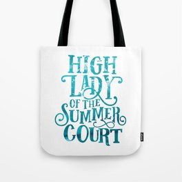 High Lady Summer Court ACOTAR Tote Bag