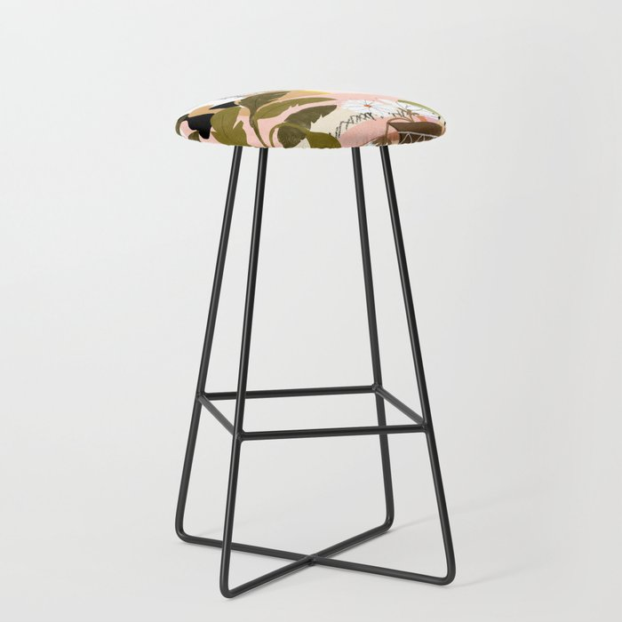 How Many Plants Is Enough Plants? Bar Stool