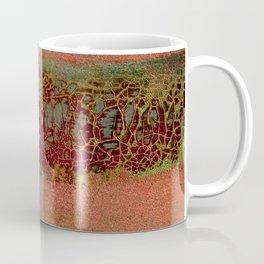 Dinosaur Skin Maroon Coffee Mug