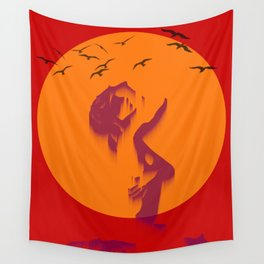 Loser sky Wall Tapestry