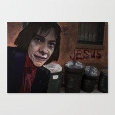 Busker Jesus Canvas Print