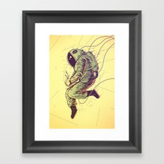 Green Mission Framed Art Print