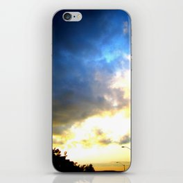 Storm over Suburbia iPhone Skin