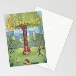 Perfect Day at the Park Stationery Cards